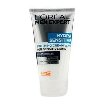 Men Expert Hydra Sensitive Soothing Cream Wash (For Sensitive Skin) - 150ml-5oz