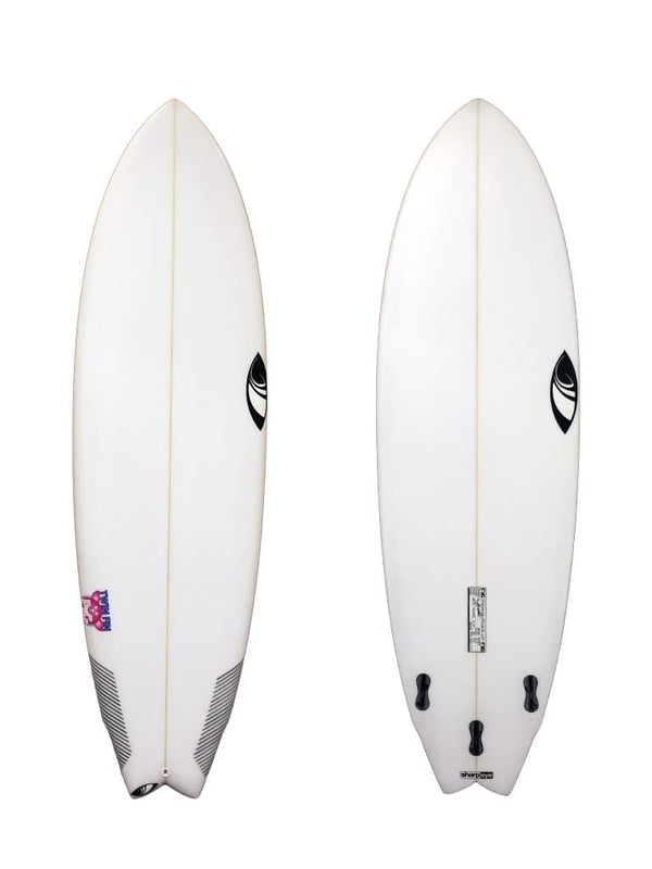 Sharp Eye Twin Fin Pig 6'4