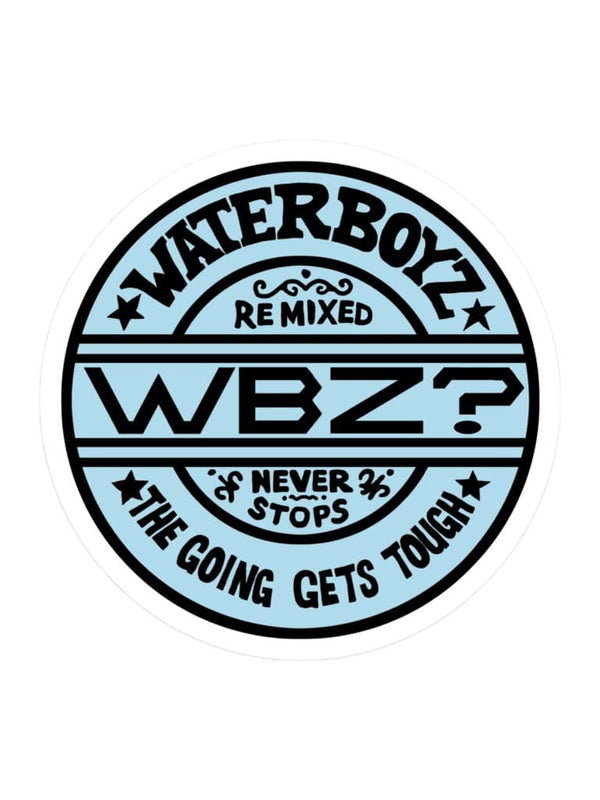 WBZ Get Going Sticker