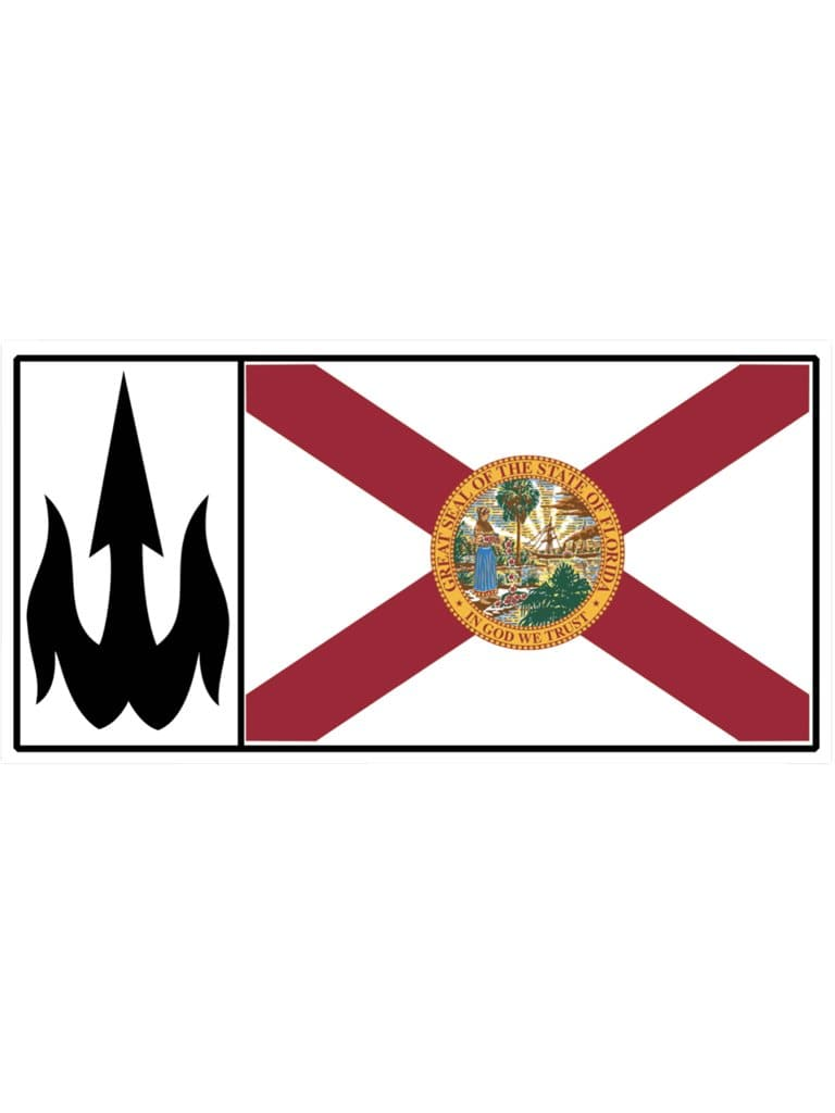 WBZ FL Flag Sticker