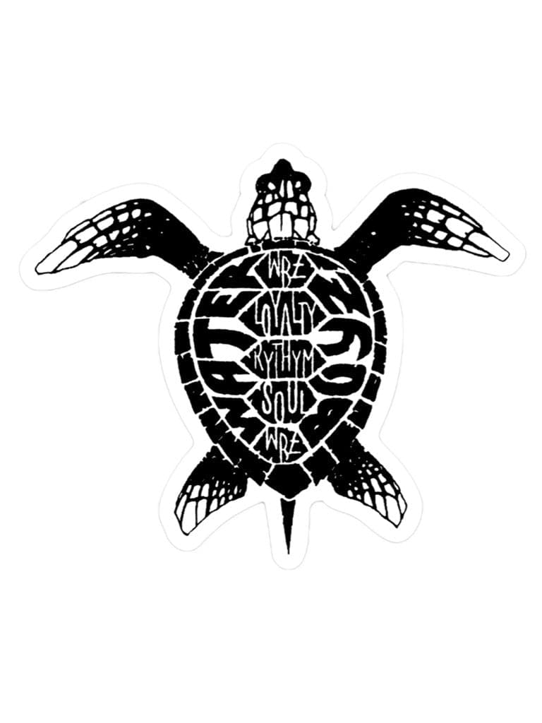 WBZ Turtle Sticker