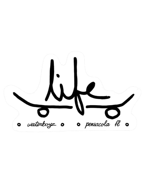 WBZ Skate Life Sticker