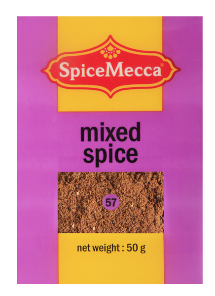 mixed spice 50g