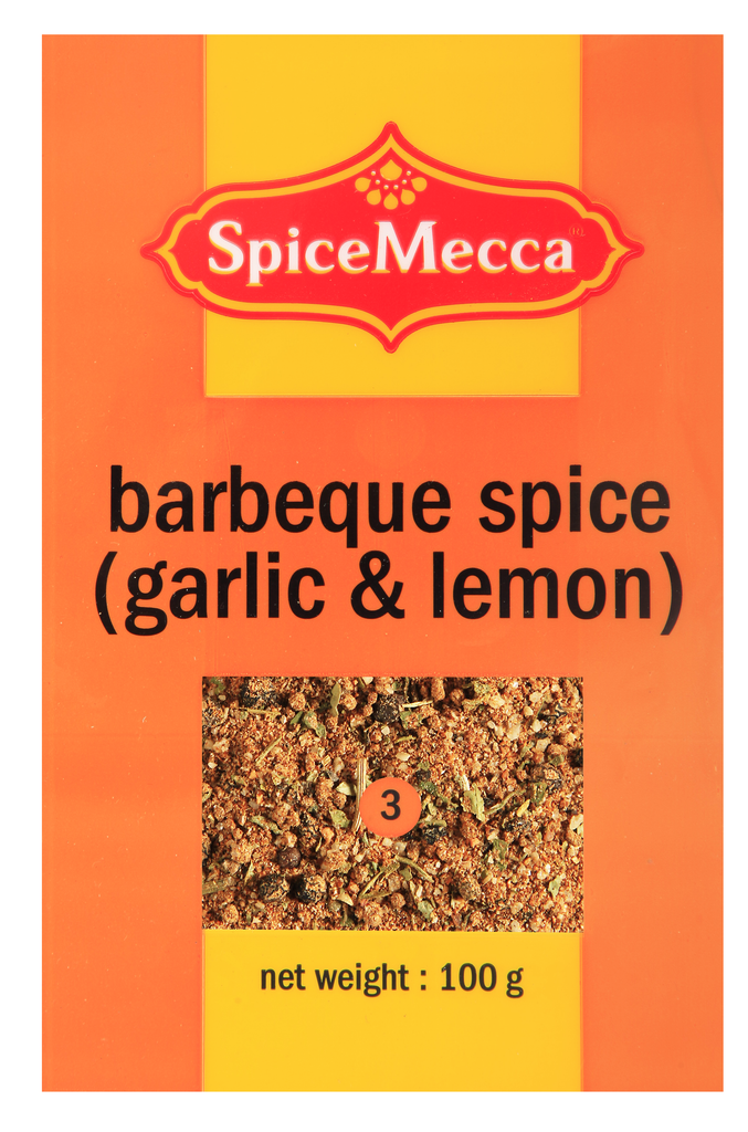 barbeque spice (garlic & lemon) 100g