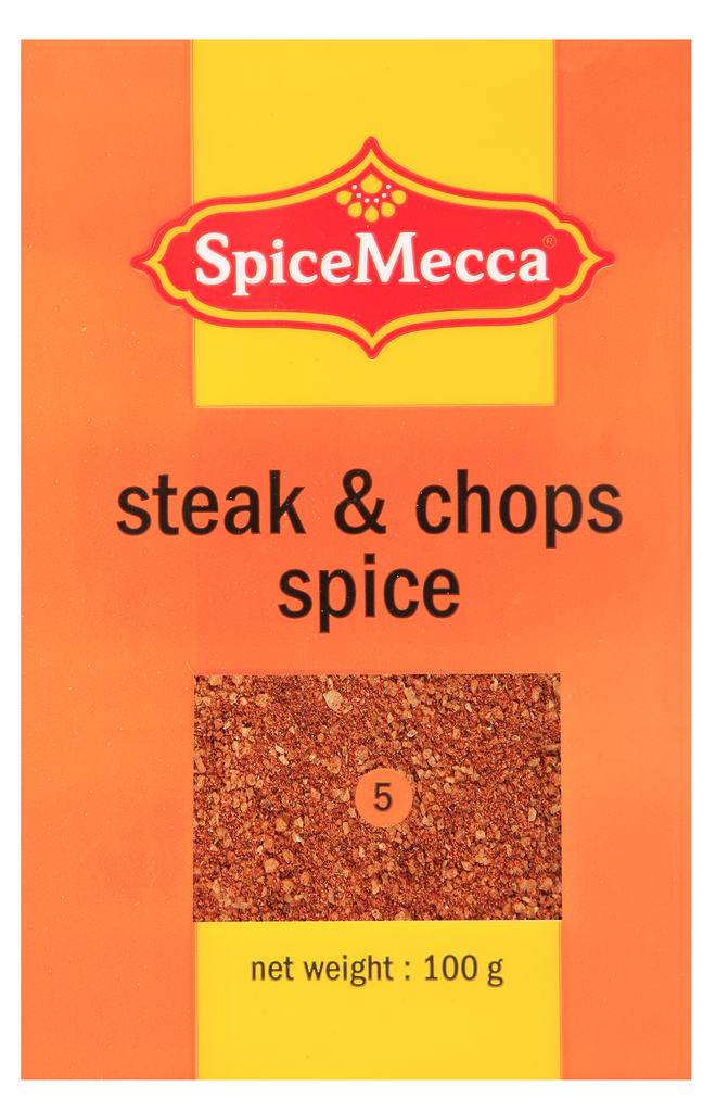 steak & chops spice 100g