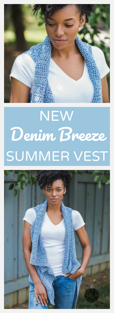 The Denim Breeze Vest - Pattern and Giveaway