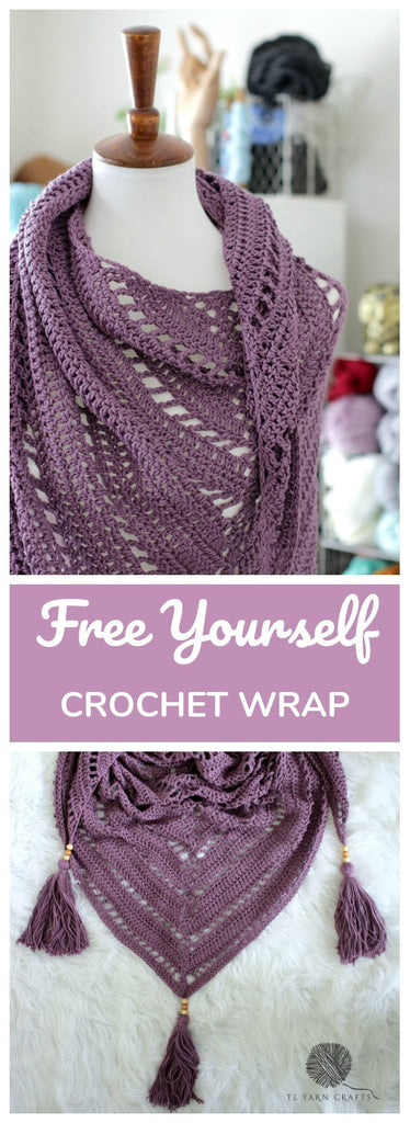 The Free Yourself Shawl - New Crochet Pattern