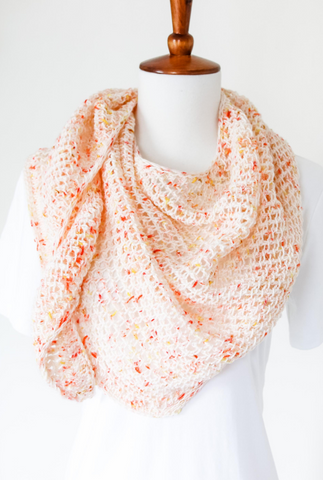 Party Punch Shawl // Crochet PDF Pattern