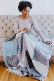 Tunisian Holiday Sampler Blanket // Crochet PDF Pattern