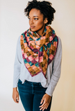 Entrelac And Key // Crochet PDF Pattern