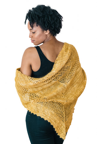 Wildbird Shawl // Crochet PDF Pattern