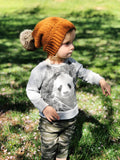 Flower Child Beanie // Crochet PDF Pattern
