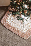 Solstice Tree Skirt // Crochet PDF Pattern