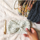 Bailey Ear Warmer // Crochet PDF Pattern