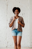 French Press Cardi // Crochet PDF Pattern