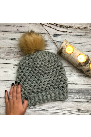 Bubble Wrap XL Beanie // Crochet PDF Pattern
