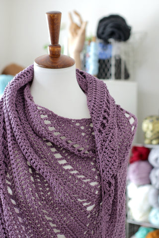 Free Yourself Shawl // Crochet PDF Pattern