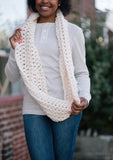 Level 4 Infinity Scarf // Crochet PDF Pattern