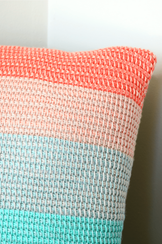 Ombre Dream Pillow // Crochet PDF Pattern