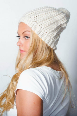 Park City Beanie // Crochet PDF Pattern