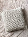 Beach HouseThrow Pillow // Tunisian Crochet PDF Pattern