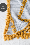 Bright Side Blanket // Crochet PDF Pattern