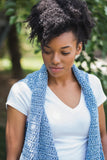 Denim Breeze Vest // Crochet PDF Pattern