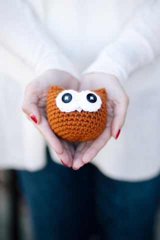 Owlbert Decorative Ornament >> Christmas Ornament, Wall Decoration, Rear View Mirror Decoration >> Honey
