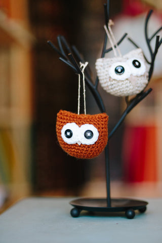 Owlbert the Amigurumi Owl // Crochet PDF Pattern
