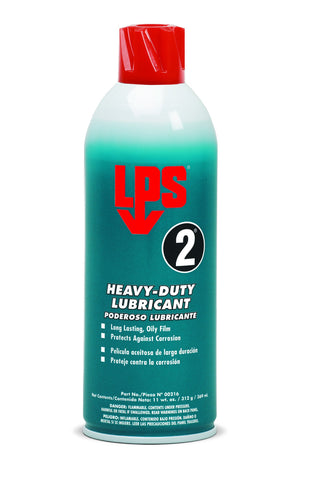 LPS 2 - Lubricant 16 oz. Aerosol - Discount Industrial Hardware Supply