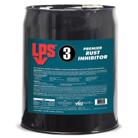 LPS 3 Corrision Inhibitor 5 Gallon - Discount Industrial Hardware Supply