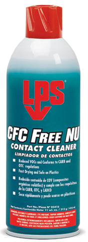 CFC Free NU Electrical Cleaner 16 oz. - Discount Industrial Hardware Supply