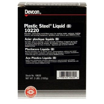 Devcon Plastic Steel Liquid (B) 4 lb - Discount Industrial Hardware Supply