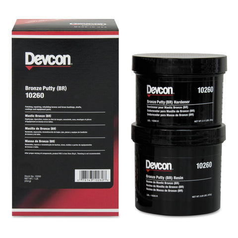 Devcon Bronze Putty (BR) 1 lb - Discount Industrial Hardware Supply