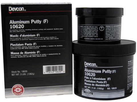 Devcon Aluminum Putty (F) 3 lb - Discount Industrial Hardware Supply