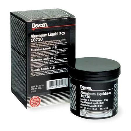 Devcon Aluminum Liquid (F-2) 1 lb - Discount Industrial Hardware Supply