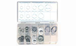 Precision Kit 140 Piece Retaining Ring Assortment - Discount Industrial Hardware Supply