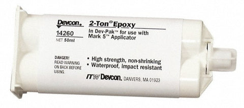Devcon 2 Ton Epoxy Clear 50ml - Discount Industrial Hardware Supply