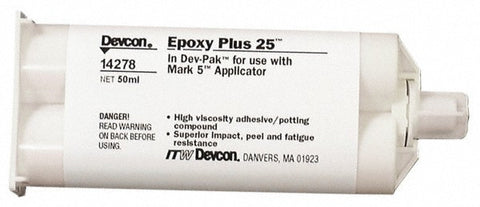 Devcon  Epoxy Plus 25 Grey 50ml - Discount Industrial Hardware Supply