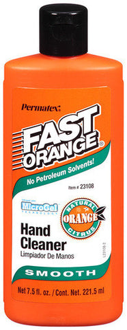 Fast Orange Smooth Hand Cleaner 7.5fl. Oz Squeeze Bottle - Discount Industrial Hardware Supply