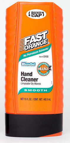 Fast Orange Smooth Hand Cleaner 15fl. Oz Squeeze Bottle - Discount Industrial Hardware Supply