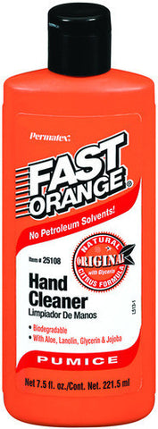 Fast Orange Pumice Hand Cleaner 7.5fl. oz Squeeze Bottle - Discount Industrial Hardware Supply