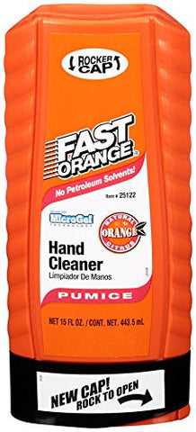 Fast Orange Pumice Hand Cleaner 15fl. Oz Squeeze Bottle - Discount Industrial Hardware Supply