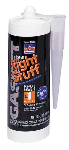 Permatex The Right Stuff Instant Rubber Gasket Maker 5oz Cartridge - Discount Industrial Hardware Supply