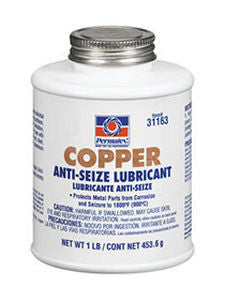 Permatex Copper Anti-Seize Lubricant 1lb Bottle - Discount Industrial Hardware Supply