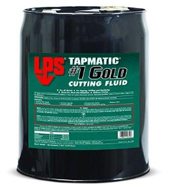LPS #1 Gold Cutting Fluid 5 Gallon - Discount Industrial Hardware Supply
