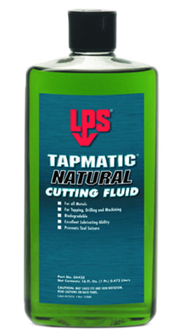 LPS Tapmatic Natural Cutting Fluid 16oz - Discount Industrial Hardware Supply