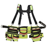 BucketBoss Hi-Vis 3 Bag Framer's Rig - Discount Industrial Hardware Supply