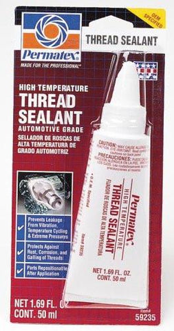 Permatex High Temperature Thread Sealant 50ml Tube - Discount Industrial Hardware Supply