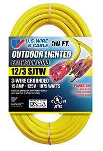 Us Wire 3-Wire Conductor Indoor/Outdoor - Discount Industrial Hardware Supply